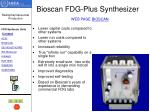bioscan fdg plus synthesizer