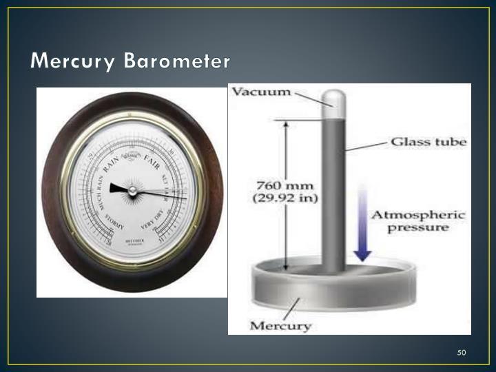 Mercury Barometer