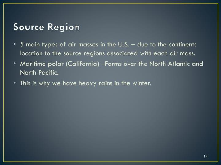 Source Region