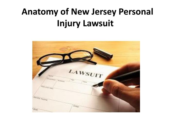 anatomy of new jersey personal injury lawsuit n.