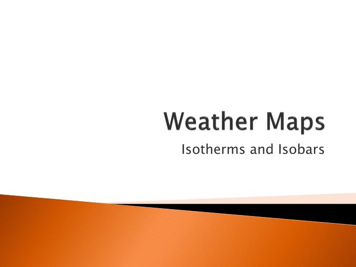 weather maps n.