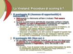 la vineland procedure di scoring 6 7