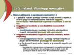la vineland punteggi normativi