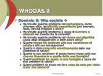 whodas ii10