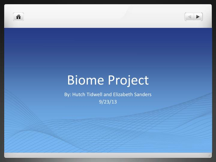 biome project n.