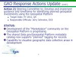 gao response actions update cont1