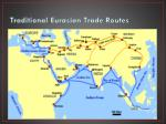 traditional eurasian trade routes