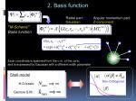 2 basis function