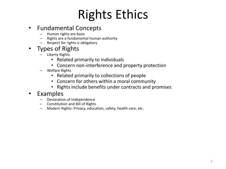 welfare rights examples