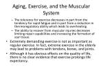 aging exercise and the muscular system1