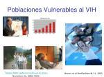 poblaciones vulnerables al vih