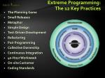 extreme programming the 12 key practices