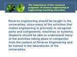 the importance of the research programs of reverse engineering in engineering teaching education5