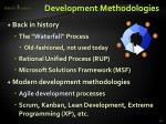 development methodologies1