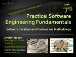 practical software engineering fundamentals