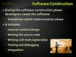 software construction1