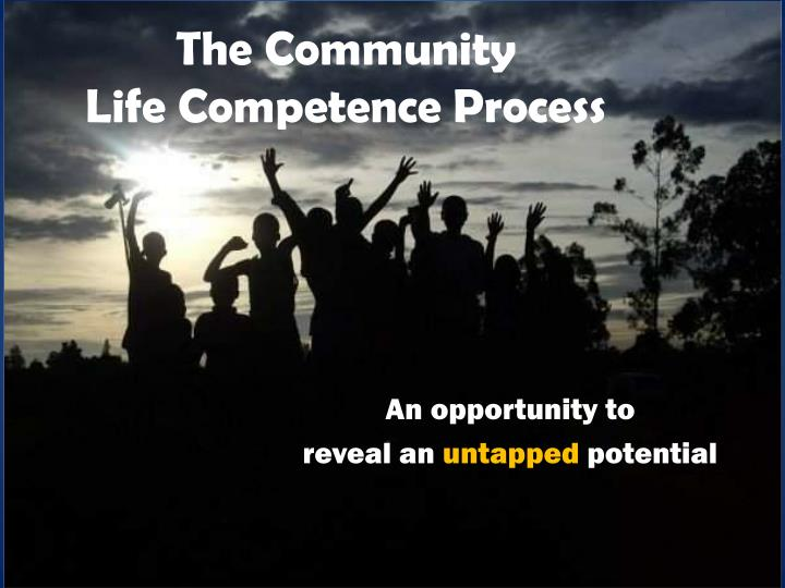 the community life competence process n.