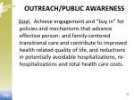 outreach public awareness