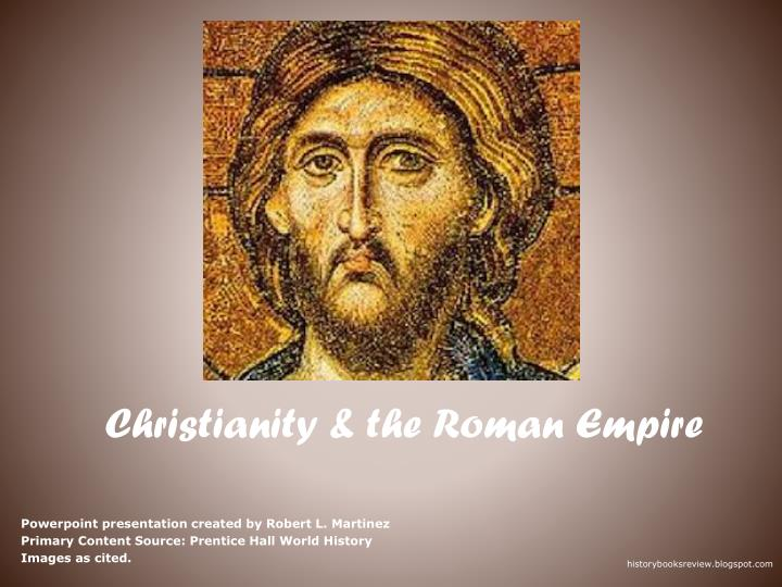 christianity the roman empire n.