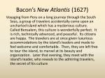 bacon s new atlantis 1627