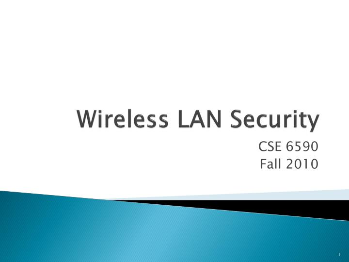 wireless lan security n.