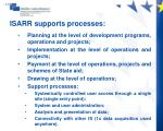 isarr supports processes