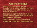 general prologue