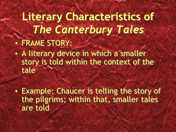 a literary analysis of the millers tale in the canterbury tales by geoffrey chaucer A literary analysis of the canterbury tales by  geoffrey chaucer, the canterbury tales, the miller s tale  geoffrey chaucer, the canterbury tales, the miller s.