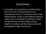 escutcheon