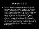 example c 1530