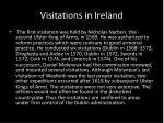 visitations in ireland
