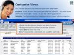 customize views