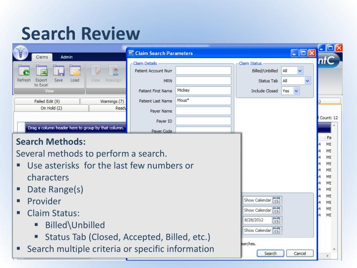 Search Review