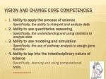 vision and change core competencies1