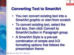 converting text to smartart1