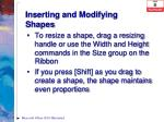 inserting and modifying shapes1
