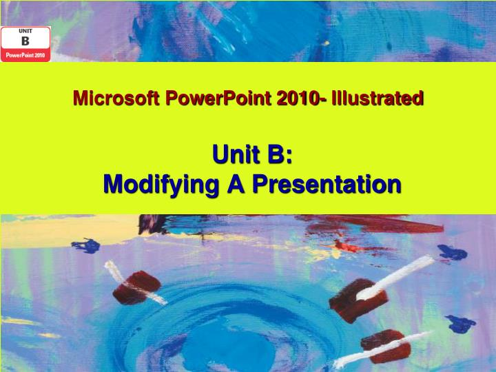 microsoft powerpoint 2010 illustrated n.