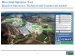 microgrid optimizer tool based on interactive technical and commercial models