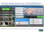 tool easily enables energy assets ee and dr measures