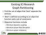existing ici research graph partitioning1