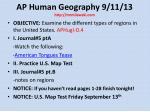 ap human geography 9 11 13 http mrmilewski com