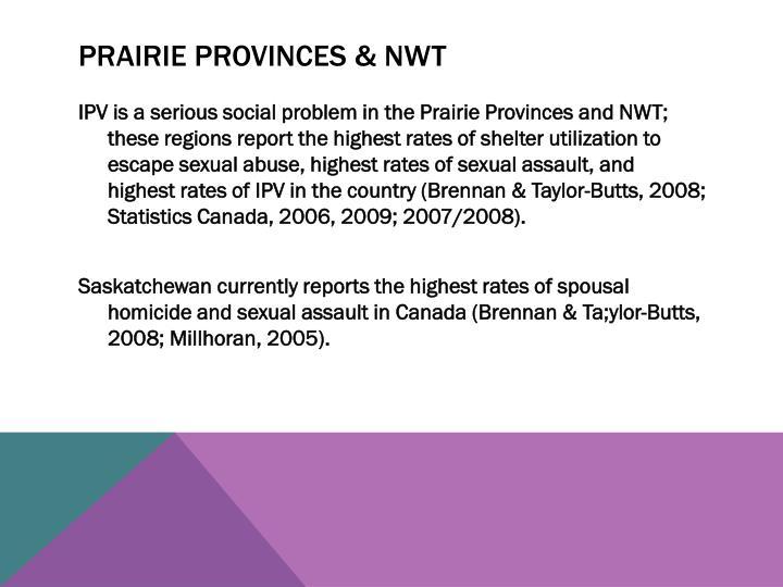 Prairie Provinces & NWT