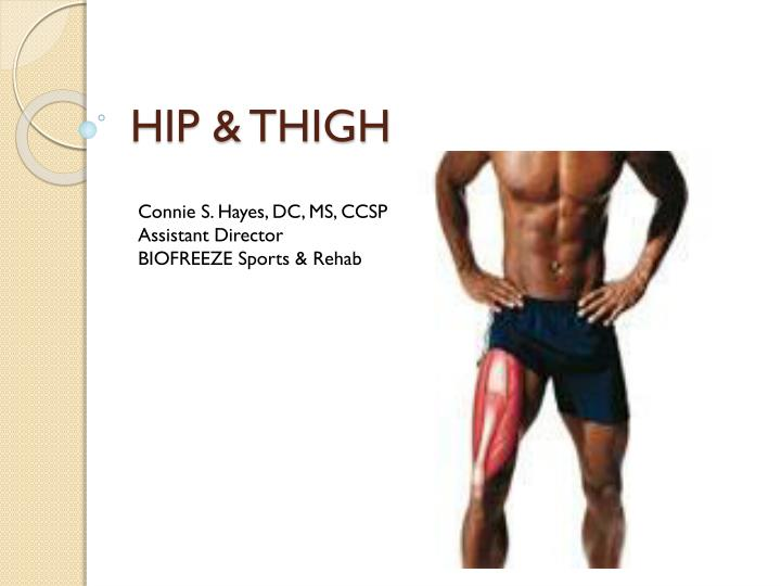 hip thigh n.