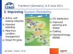 2 improving system reliability