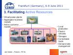 3 facilitating active resources