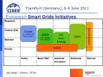 european smart grids initiatives