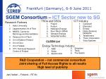 sgem consortium ict sector new to sg