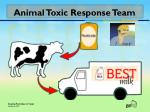 animal toxic response team