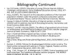 bibliography continued2