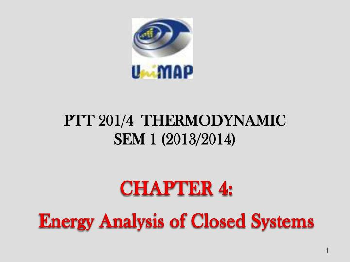 chapter 4 energy analysis of closed systems n.